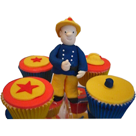Fireman Sam Childrens birthday cake
