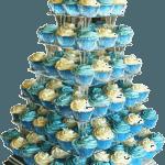 VW Camper Van Wedding With Cup Cakes
