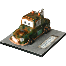 3D Mater From Cars Movie