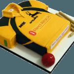 Ajmal Shahzad Cricketer Birthday Cake