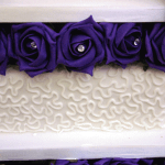 Cornelli design wedding cake