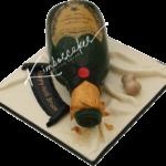 Champagne Birthday Cake Derby