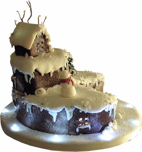 American Style Christmas Cake Recipe