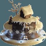Christmas House Cake Leicester