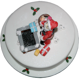 Christmas Santa Seasonal Cake