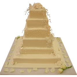 Cornelli Design Asian Wedding Cake