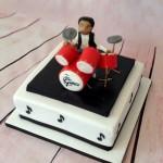 Cake testimonials drummer birthday cake