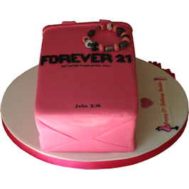 Forever 21 novelty birthday cake leicester