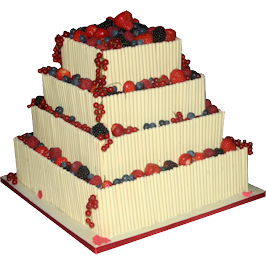 Fruit Cigarello Wedding Cake nottingham
