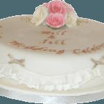 Gold Anniversary Cake Nottinghamshire Derbyshire