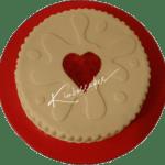 Jammie Dodger Cake Nottingham