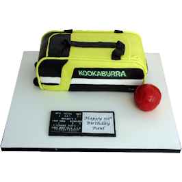 Kookaburra Bag Novelty Birthday Cake