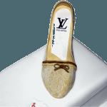 Vuitton Lace Shoe Birthday Cake Birmingham