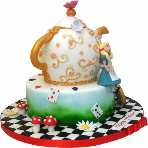 Stopwatch Birthday Cake