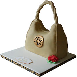 Mulberry Handbag 3D Wedding and Birthday Cakes Derby