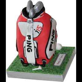 Ping Golf Bag 3D Cakes