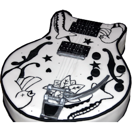 Porl Thompson Guitar 3D Birthday Cake