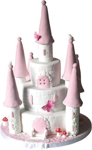 Princess Castle Childrens Birthday Cakes Nottingham