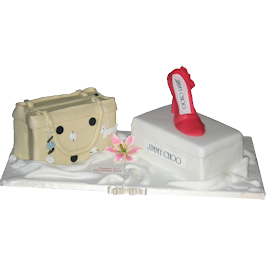 Radley Jimmy Choo Fashion Birthday Cake Nottinghamshire