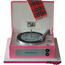 Record Player Bay City Rollers
