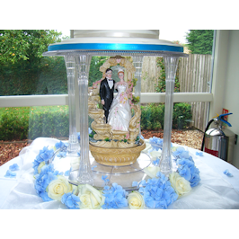Spanish theme wedding cake derbyshire