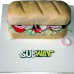 Subway Baguette Birthday Cake Derby