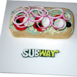 Subway Baguette Birthday Cake Nottingham