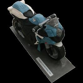 Suzuki Motorbike 3D Cake Derby