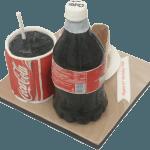 Novelty Coke Bottle Birthday Cake