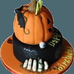 Halloween Fright Night cake