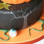 Halloween Party Time Cake