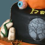 Halloween Scare Fest Novelty Cake