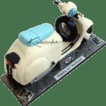 Lambretta Scooter Birthday Cake London