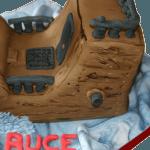 Pirate Ship 3D Birthday Cake