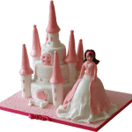 Barbie Castle Birthday Cake