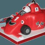 Roary Racing Car Childrens Birthday Cake