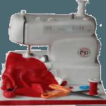 Sewing Machine 3D Bespoke Cakes Derbyshire Nottinghamshire