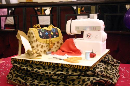 Cake Design For Singer : Singer meets Vuitton Custom Birthday Cakes Kimboscakes