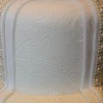 Lace Effect Wedding Dress Cake