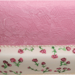 Vintage Gingham Lace Wedding Cake