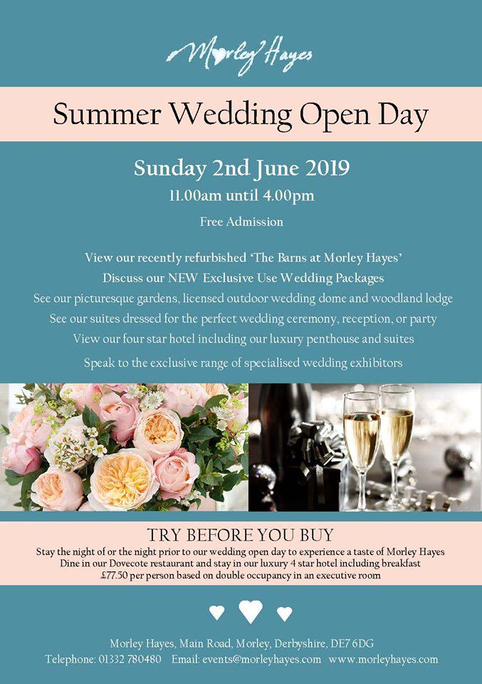 Morley Hayes Wedding Open Day