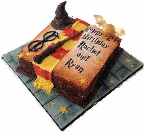 Harry Potter Cakes Uk