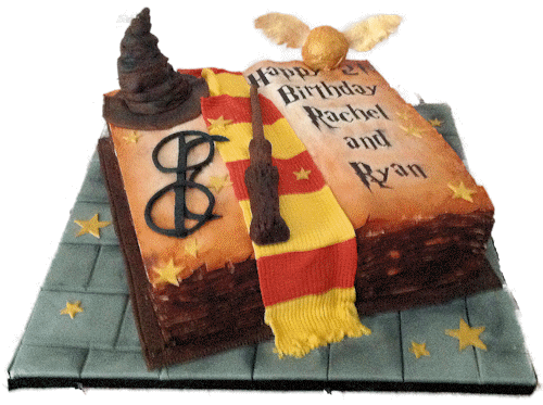 How To Make A Harry Potter Themed Cake