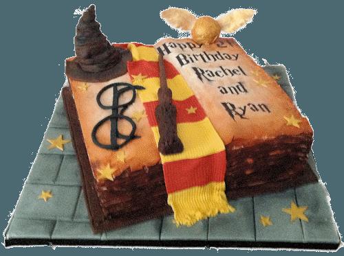 Harry Potter Cake Topper Ideas