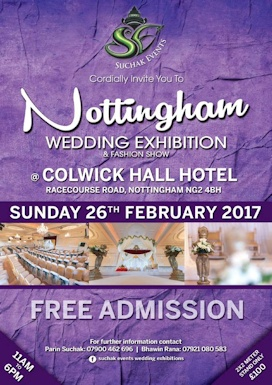 Asian Wedding Exhibition Colwick Hall Hotel