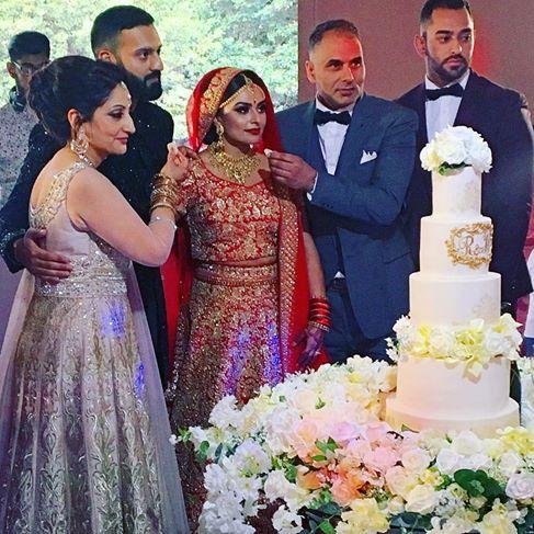 Asian Wedding Cakes Derby Nottingham