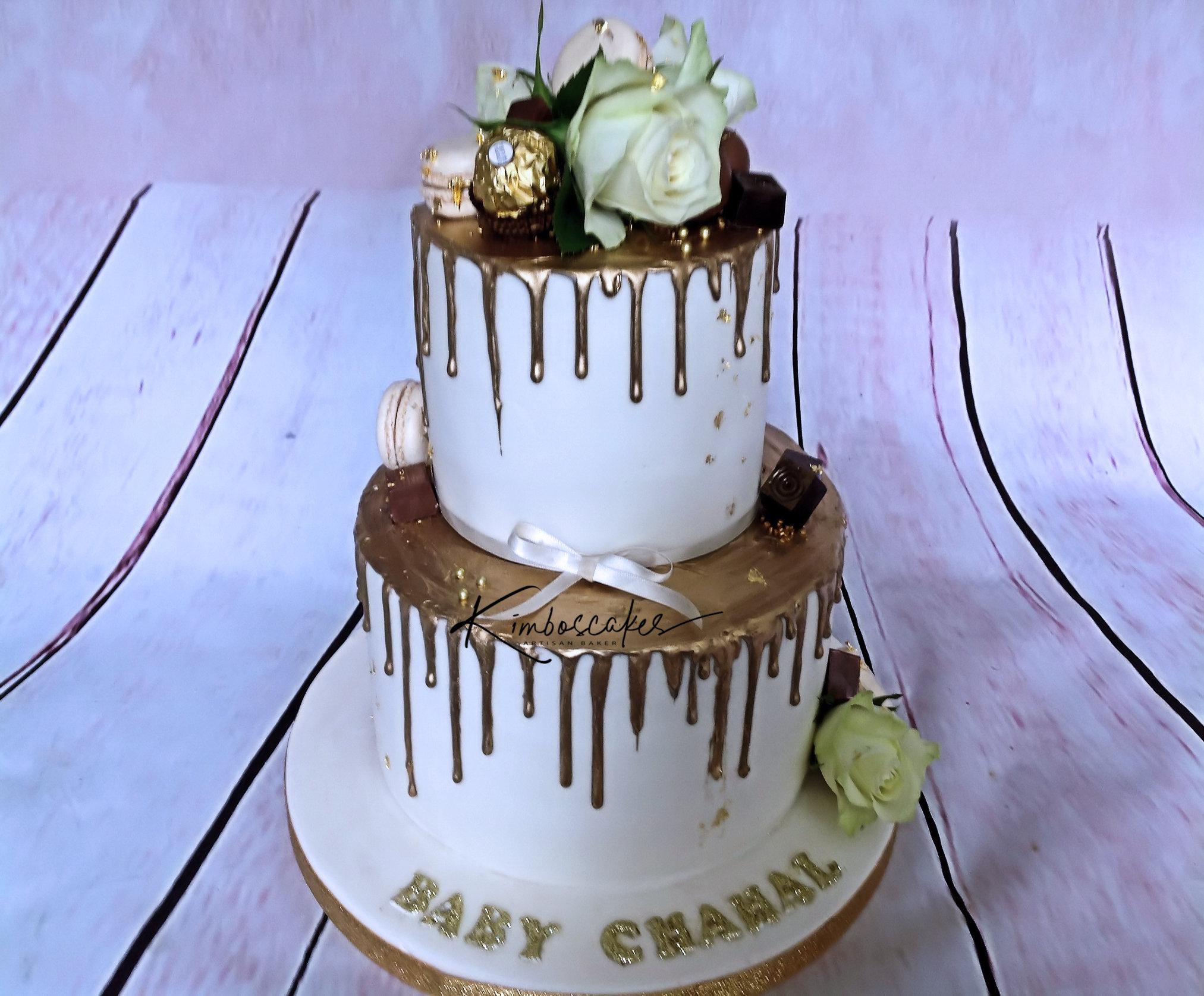 Christening Baby Shower Cakes